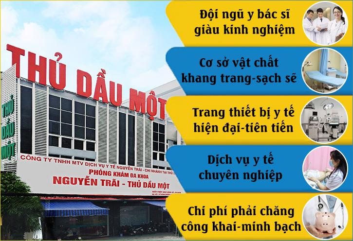 Đa Khoa Nguyễn Trãi - Thủ Dầu Một hỗ trợ trị viêm nhiễm phụ khoa uy tín