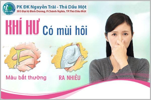 Bị bệnh khí hư - khí hư có mùi hôi điều trị ra sao?