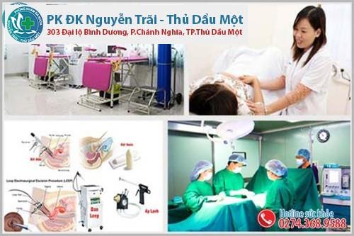 Đa Khoa Nguyễn Trãi - Thủ Dầu Một hỗ trợ điều trị viêm cổ tử cung uy tín