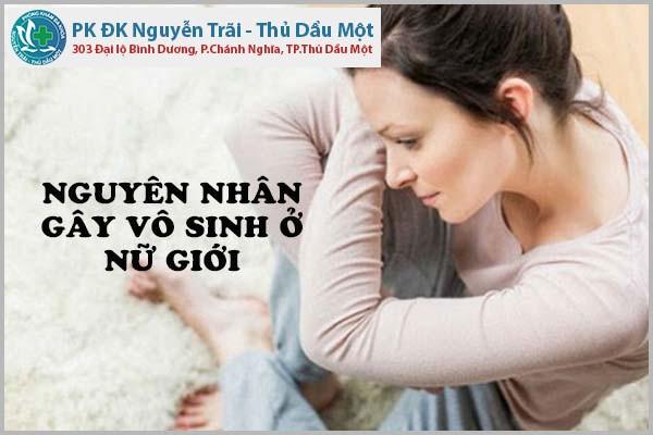 Nguyên nhân dẫn đến vô sinh ở phụ nữ