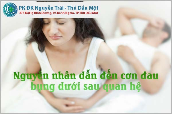 Những cơn đau bụng dưới sau quan hệ không nên xem thường