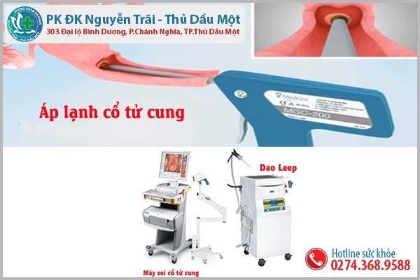 Phương pháp điều trị viêm cổ tử cung tại Đa Khoa Nguyễn Trãi - Thủ Dầu Một hiệu quả